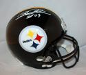 Rod Woodson Autographed *White Pittsburgh Steelers F/S Helmet- JSA W Auth HOF