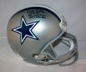 Bob Lilly Autographed Dallas Cowboys F/S Helmet W/ 3 Inscriptions- JSA W Auth