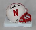 Irving Fryar Autographed Nebraska Cornhuskers Riddell Mini Helmet- SGC Auth