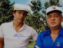 Chevy Chase Autographed 16x20 Caddyshack w/Dangerfield Photo- Beckett Auth