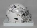 Brian Dawkins  Philadelphia Eagles Speed ICE Mini Helmet - JSA W Auth