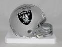Rod Woodson Autographed Oakland Raiders Mini Helmet W/ HOF- JSA W Auth