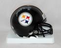 James Harrison Autographed Pittsburgh Steelers Mini Helmet  JSA Witness  *white*