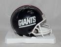 Lawrence Taylor Autographed N.Y. Giants TB 81-99 Mini Helmet W/ HOF-JSAW *silver