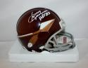 Sonny Jurgensen Autographed Washington Redskins Spear Mini Helmet HOF-JSA *white