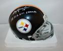 Roy Gerela Autographed Pittsburgh Steelers 63-76 Mini Helmet- JSA W Auth *white*