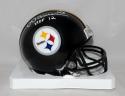Dermonti Dawson Autographed Pittsburgh Steelers HOF Mini Helmet Jerseysource *wh