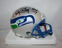 Kenny Easley Autographed Seattle Seahawks 83-01 Mini Helmet HOF- JSA W Auth *blk