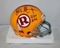 Chris Hanburger Signed Washington Redskins TB 70-71 Mini Helmet W/ HOF - JSA W