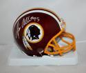 Jonathan Allen Autographed Washington Redskins Mini Helmet- SGC Auth *white