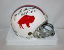 Joe DeLamielleure Autographed Buffalo Bills TB 65-73 Mini Helmet JerseySource