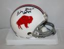 Bill Shaw Autographed Buffalo Bills TB 65-73 HOF Insc Mini Helmet JerseySource