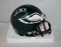 Donovan McNabb Autographed Philadelphia Eagles Mini Helmet- JSA Witnessed *white