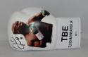 Floyd Mayweather Autographed White Custom TBE Image Left Boxing Glove - Beckett