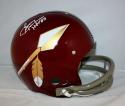 Sonny Jurgensen HOF Signed *White F/S Washington Redskins 65-69 TK Helmet JSA W Auth