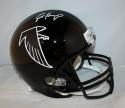 Brett Favre Autographed Full Size Atlanta Falcons 90-02 Helmet- JSA W #4 Insc