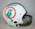 Bob Griese Autographed Miami Dolphins 1972 TB TK Helmet - JSA Witn Auth HOF Insc