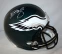 Donovan McNabb Autographed *White Philadelphia Eagles F/S Helmet- JSA W Auth