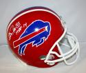 Andre Reed Autographed Buffalo Bills TB 87-01 Full Size Helmet- JSA Witness Auth