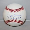 John Candeleria Autographed Rawlings OML Baseball NH 8.9.76 -JerseySource Auth