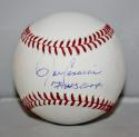 John Candeleria Autographed Rawlings OML Baseball 79 WS Champs JerseySource Auth
