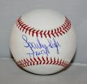 Sparky Lyle Autographed Rawlings OML Baseball 77 AL Cy  Insc -JerseySource Auth