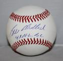 Bill Madlock Autographed Rawlings OML Baseball 4x NL BC  Insc -JerseySource Auth