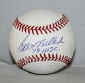 Bill Madlock Autographed Rawlings OML Baseball 79 WSC Insc -JerseySource Auth