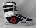 Floyd Mayweather Autographed Reebok Boxing Shoe Right Beckett BAS *Black*