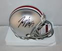 Joey Bosa Autographed Ohio State Buckeyes Mini Helmet- JSA Witnessed Auth