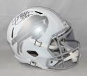 Jim Kelly Autographed Buffalo Bills Full Size Speed Ice Helmet JSA Witnessed HOF