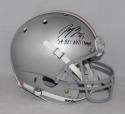 Joey Bosa Autographed Ohio State F/S Schutt Helmet W/ Natl Champs- JSA W *below*