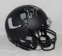 Warren Sapp Autographed MIami Hurricanes Black Full Size Helmet JSAW Auth Silver