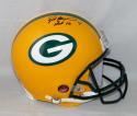 Brett Favre Autographed F/S Green Bay Packers Proline Helmet JSA Witness HOF INS