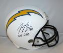 Joey Bosa Autographed F/S San Diego Chargers Helmet- JSA W Authenticated ROY INS