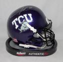 LaDainian Tomlinson Autographed TCU Horned Frogs Mini Helmet- JSA W Auth