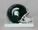 Plaxico Burress Autographed Michigan State Mini Helmet- JSA W Authenticated