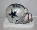 Taco Charlton Autographed Dallas Cowboys Mini Helmet JSA Witness Auth *Black