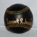 Frank Robinson Autographed Rawlings Black OML Baseball W/ HOF- JSA Authenticated
