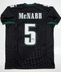Donovan McNabb Autographed Black Pro Style Jersey- JSA W Authenticated