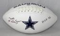 Mel Renfro Autographed Dallas Cowboys Logo Football- SGC Auth