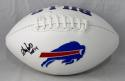 Andre Reed Autographed Buffalo Bills Logo Football w/ HOF- JSA W Auth