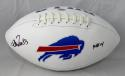 Andre Reed Autographed Buffalo Bills Logo Football w/ HOF- SGC Auth