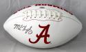 Marlon Humphrey Autographed Alabama Logo Football - SGC Auth