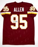 Jonathan Allen Autographed Maroon Pro Style Jersey- SGC Authenticated