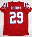 LeGarrette Blount Autographed Red Pro Style Jersey - JSA Witnessed Authenticated