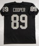 Amari Cooper Autographed Black Pro Style Jersey *8- JSA Witnessed Auth