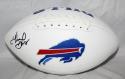 Thurman Thomas Autographed Buffalo Bills Logo Football- JSA Witness Authentic