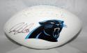 Greg Olsen Autographed Carolina Panthers Logo Football- JSA W Authenticated