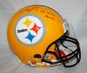 Ben Roethlisberger Signed F/S Pittsburgh Steelers ProLine Helmet w/ SB Champs- JSA W Auth